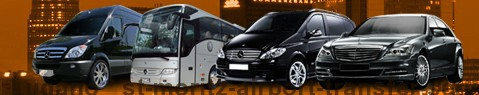 Private transfer from Lugano to Saint Moritz