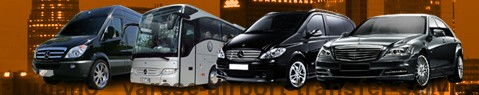 Private transfer from Lugano to Varese