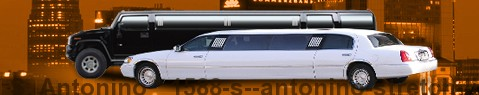 Stretch Limousine S. Antonino | location limousine | Limousine Center Schweiz
