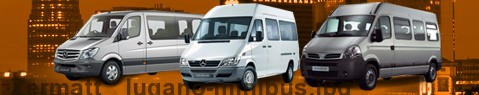 Private transfer from Zermatt to Lugano with Minibus