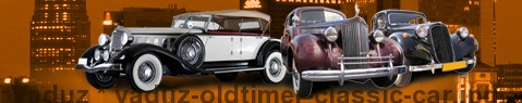 Vintage car Vaduz | classic car hire | Limousine Center Schweiz